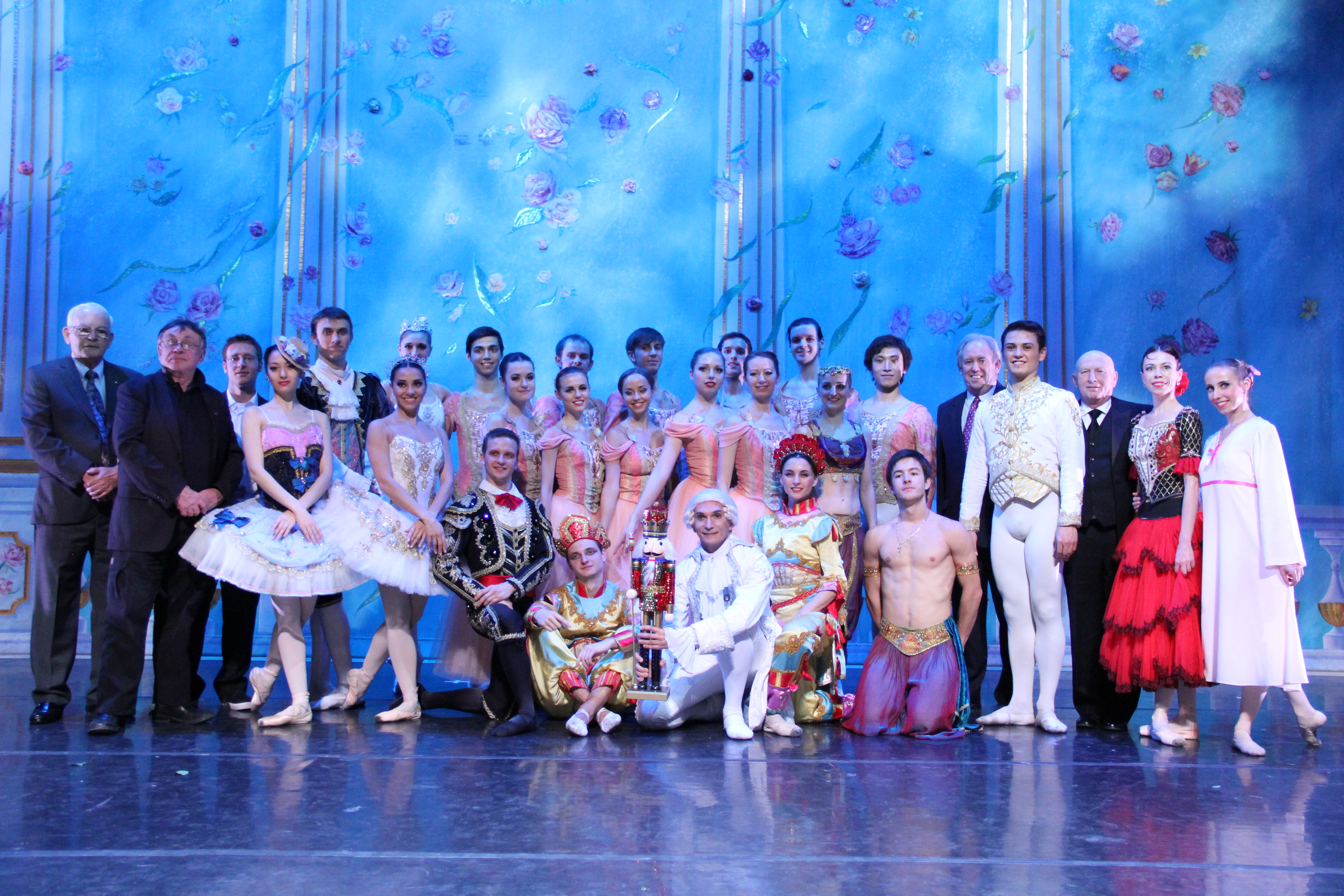 Calgary RAS Executives and Moscow Ballet company