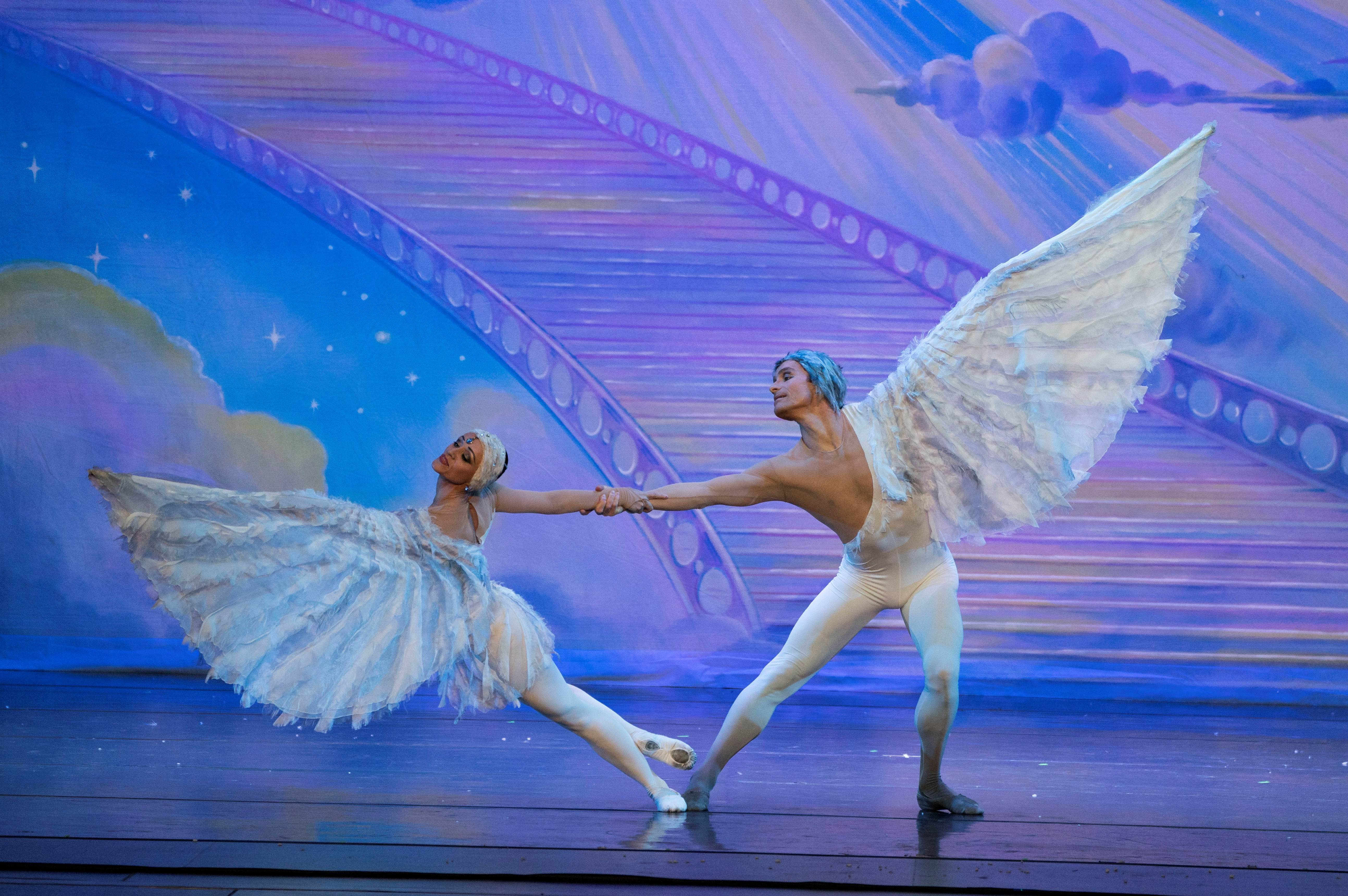 12. Moscow Ballet's signature Dove of Peace