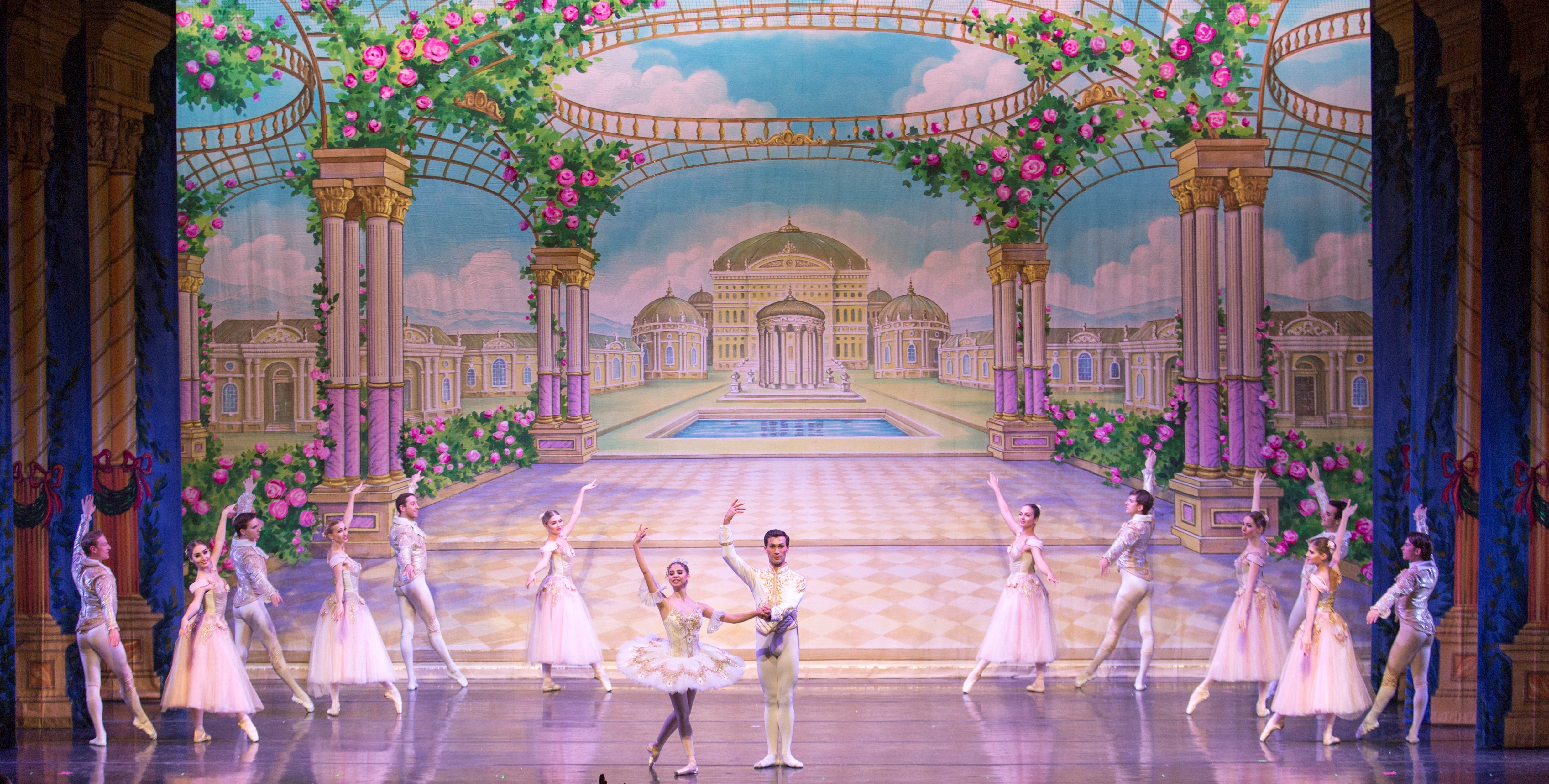 19. Moscow Ballet's Waltz of the Flowers, costumes by A Oliver