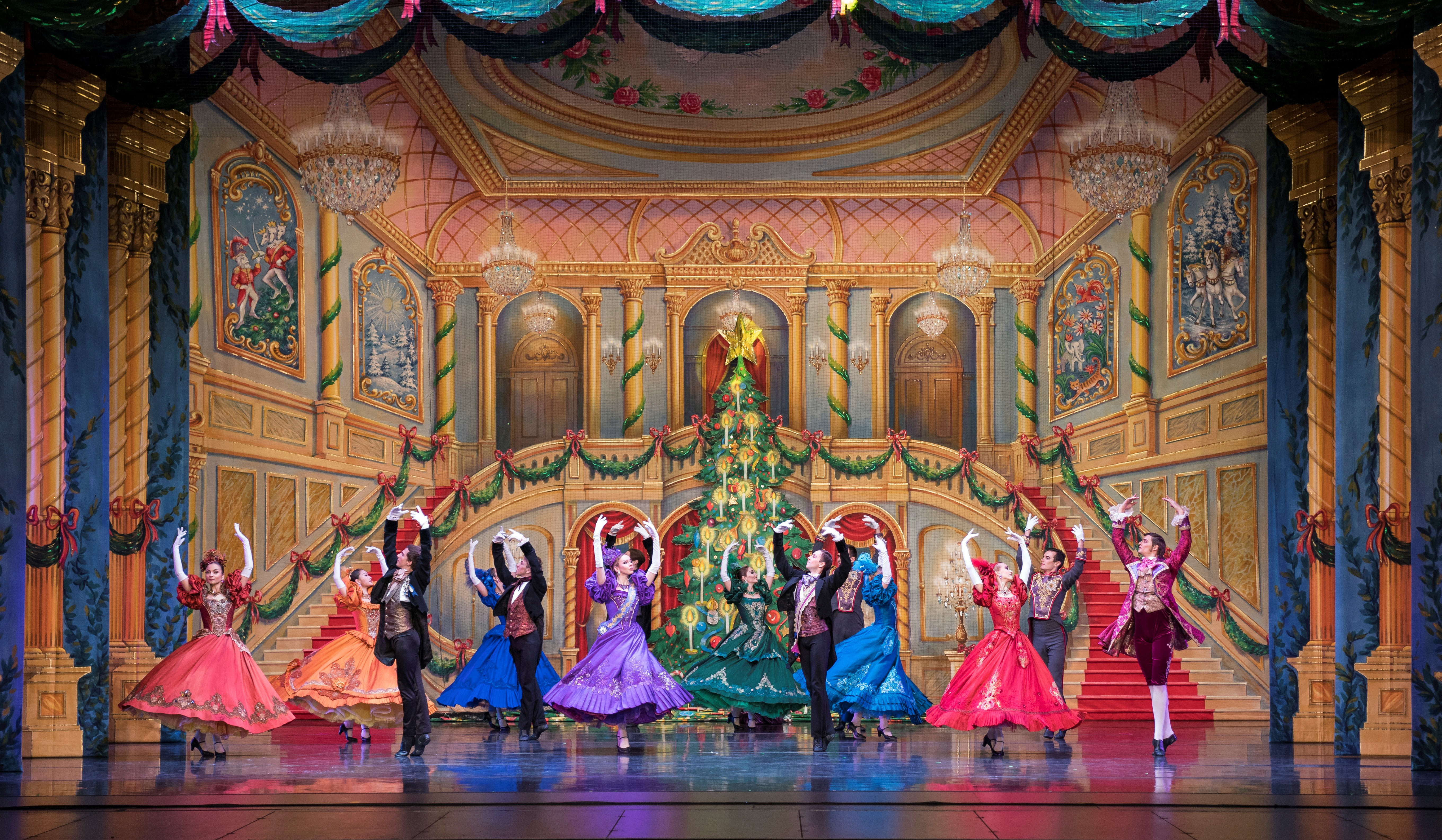 4. The Party Scene in the Great Russian Nutcracker, Sets C Sprague