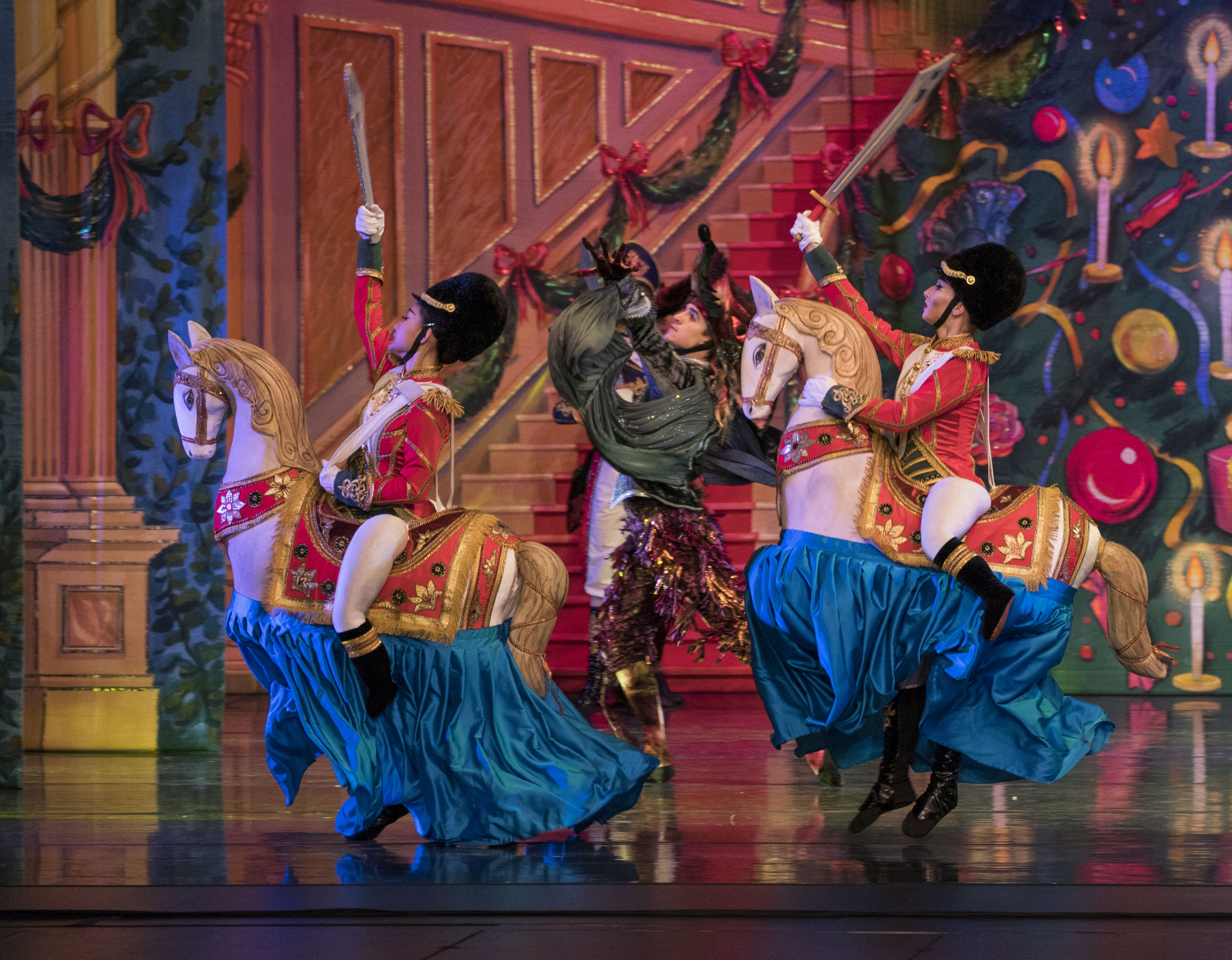 7 Moscow Ballet Cavalry in the Great Russian Nutcracker