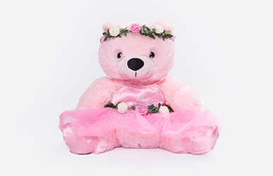 Waltz of the Flowers Plush Bear