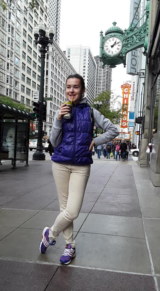 Audition Director Bogdana Kopiy explores Chicago!