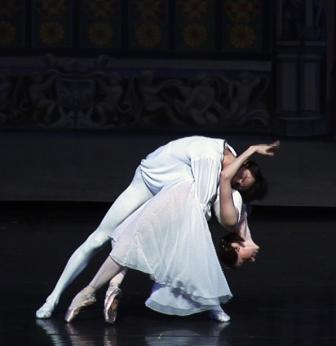 Romeo and Juliet with A. Elagina and A. Ustimov