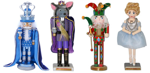 Classic Wooden Russian Nutcracker Collection