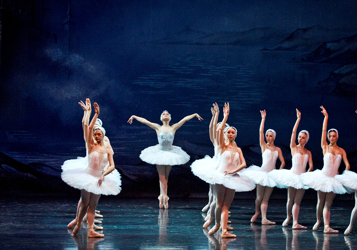 Odette and Swans
