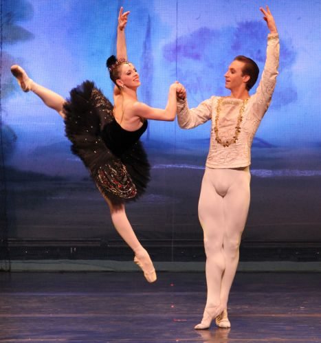 moscow ballet's bortiakova and mikhailov