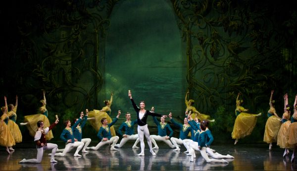 alexei terentiev and company in swan lake