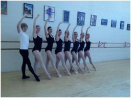 Dance in the Prairies School of Ballet students