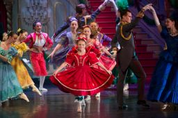 Ballet Academy of Charleston students performing in Moscow Ballet's Great Russian Nutcracker
