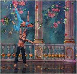 Sergey Chumakov and Elena Petrachenko in the Arabian Variation