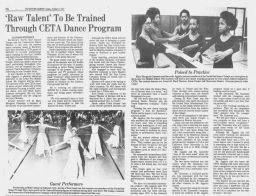 Hartford Courant Charmaine Hunter 1977