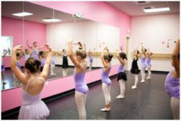 Students rehearse for the Great Russian Nutcracker