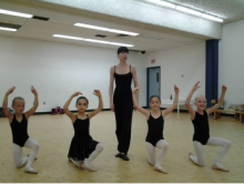 Ballet Classique Methusela students audition for Moscow Ballet's Dance with Us program