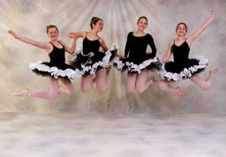 Jumping for Joy: students from the BalletSchool of Charlottesville
