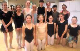 Saratoga School of Dance students