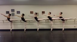 Ballet North students