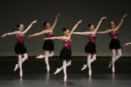 The Elizabeth Williams School of Dance students