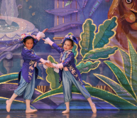 Students perform in Moscow Ballet's