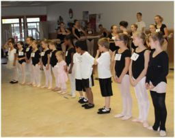 Students audition for Moscow Ballet's Great Russian Nutcracker