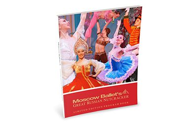 Moscow Ballet's Limited Edition Program Book