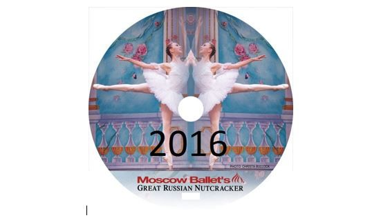 2016 Great Russian Nutcracker DVD