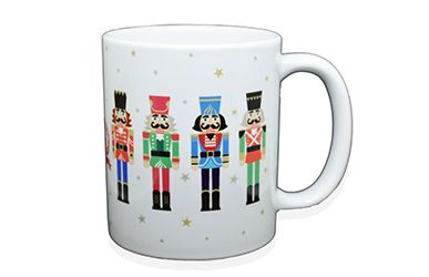 Nutcracker Soldier Mug