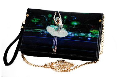 Dying Swan Ballerina Clutch Purse